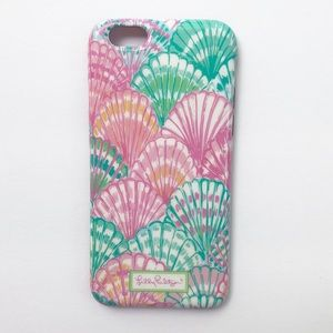 Lilly Pulitzer iPhone 6 case with screen protector